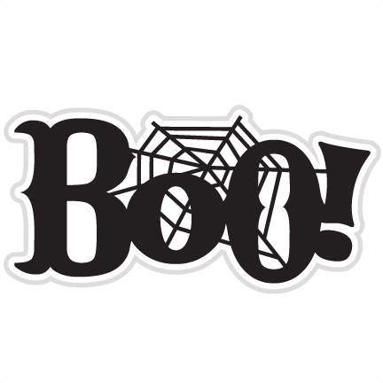 Boo! SVG scrapbook title ghost svg file halloween svg cut file ...