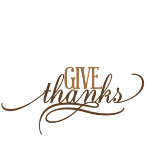 Give Thanks SVG cutting file thanksgiving svg cuts