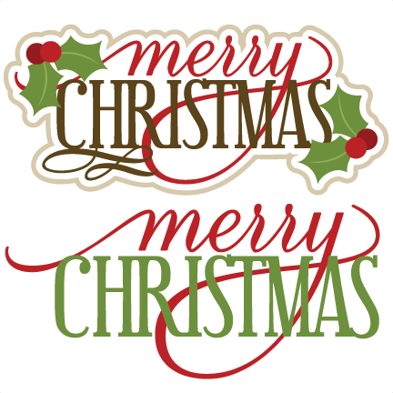 merry christmas svg scrapbook titles christmas svg cut files christmas svg files free svgs