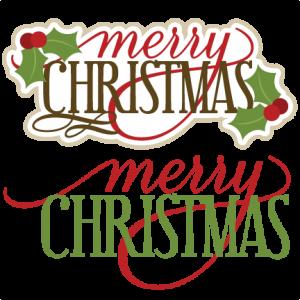 Merry Christmas SVG scrapbook titles christmas svg cut files christmas svg files free svgs