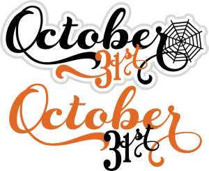 October 31st Titles - october31sttitles50cents103113 - Halloween