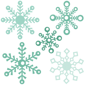 Assorted Snowflake Set - assortedsnowflake50cents110513 - Winter
