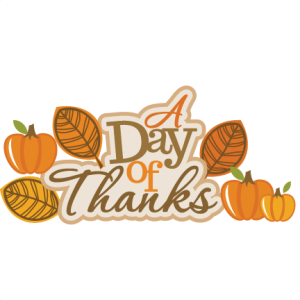 A Day Of Thanks SVG scrapbook title thanksgiving svg scrapbook title svg cut files