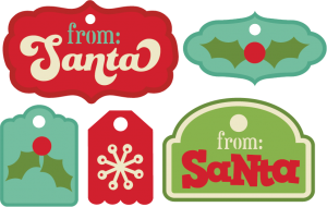 Christmas Tags SVG cutting files