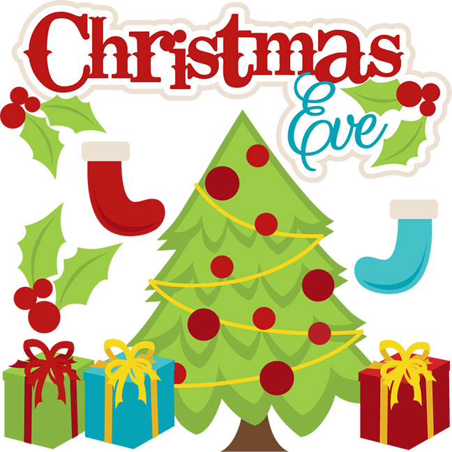Christmas Eve Svg Cutting Files For Scrapbooking Christmas Svg Cut