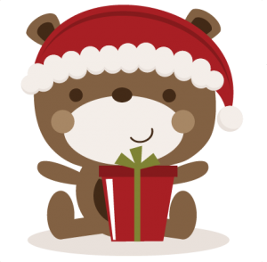 Christmas Bear SVG cutting files christmas svg cut files free svgs free svg cuts cute svgs