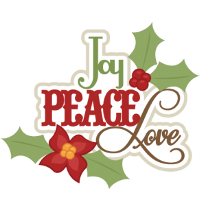 Joy Peace Love SVG cutting file christmas svg scrapbook title christmas svg cut file
