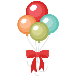 Balloon Bouquet SVG cut files balloon svg files birthday balloon svg cuts cute birthday balloon clipart