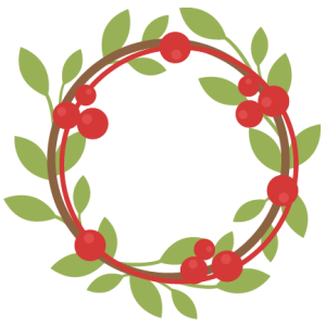 Berry Wreath SVG cutting files free svg cuts christmas svg cutting files for scrapbooking