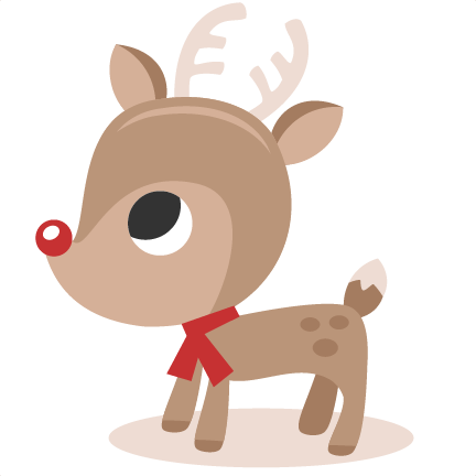 reindeer svg cutting files christmas svg cut files winter svgs for scrapbooking cute reindeer clipar - Christmas Reindeer Pictures
