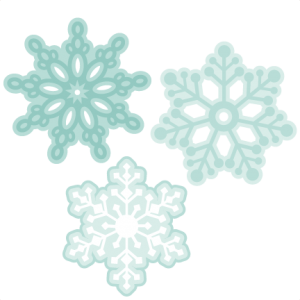 Assorted Snowflakes SVG cutting files winter svg cuts winter svg cutting files for scrapbooking