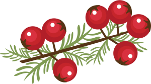 Berry Sprig SVG cutting files for cutting machines pineconesvg cut file free svgs christmas svg cuts