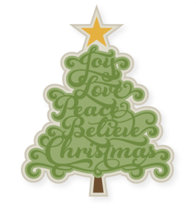 Christmas Tree Phrases SVG cutting files christmas svg cut files christmas svg files for scrapbooking