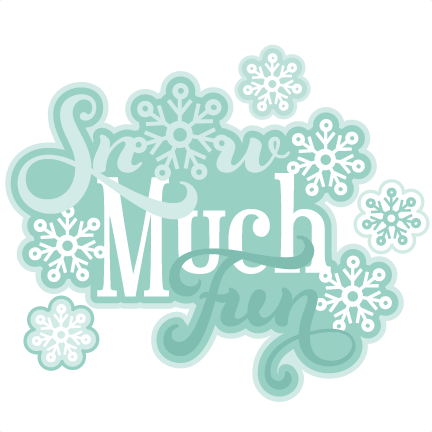 Image result for snow much fun clipart