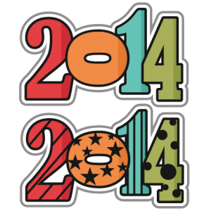 2014 SVG scrapbook titles new years clipart new years svg cut files free svg cuts