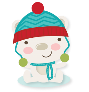 Winter Bear SVG cutting file winter svg cuts winter svg cut file