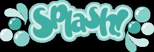 Splash SVG cut files for scrapbooking splash svg scrapbook title svg cuts