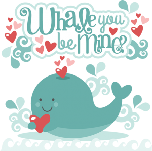 Whale You Be Mine? SVG cutting files valentines day svg cut files valentine svg cuts