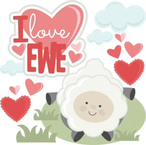 I Love Ewe SVG cutting files for scrapbooking valentines svg cut files free svg cuts