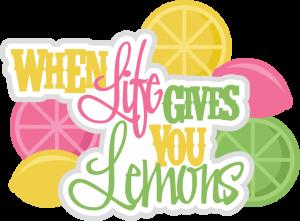 Life Gives You Lemons SVG scrapbook title lemons svg cuts scrapbook titles svg files