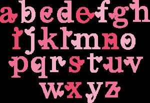 Valentine Monogram SVG cut files valentine alphabet svg cuts free svg files free svg cuts