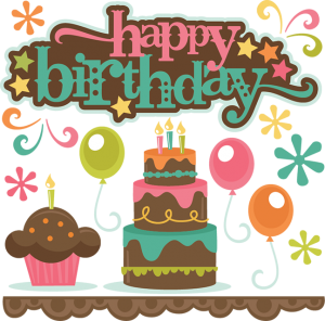 Happy Birthday SVG cutting files birthday svg cut files balloon svg files cupcake svg cuts
