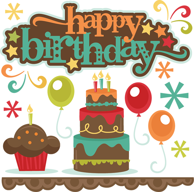 Happy Birthday SVG cutting files cake svg cut file cupcake ...