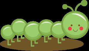 Caterpillar SVG CUT FILES for scrapbooking bug svg cut files cute caterpillar clipart