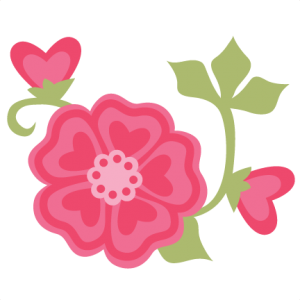 Valentine Flowers SVG cut files for scrapbooking cardmaking valentines svg files free svgs cute svg cuts