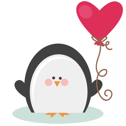 Image result for penguin valentine clipart