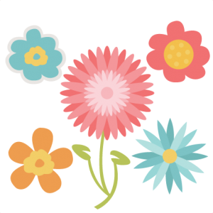 Flowers SVG cut files flower scal files free scut files free svgs for scrapbooking