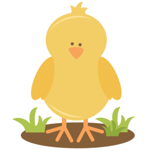 Spring Chick SVG cutting file for scrapbooking spring svg cut files chicken svg cut file