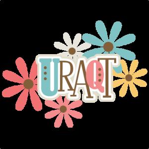 URAQT Title svg scrapbook title svg cut files for cutting machines