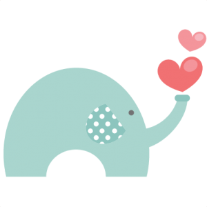 Valentine Elephant SVG file for scrapbooking cardmaking valentines svg files free svgs cute svg cuts