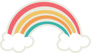Rainbow SVG cut file for cutting machines rainbow svg file svg cut files