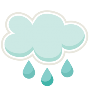 Raincloud SVG cutting file spring svg cuts cute svg files