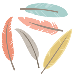 Feather Set SVG cutting files feather svg cut files for scrapbooking