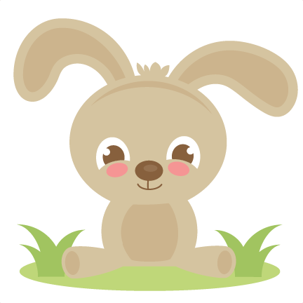 Spring Bunny SVG cutting files for cutting machines scut ...