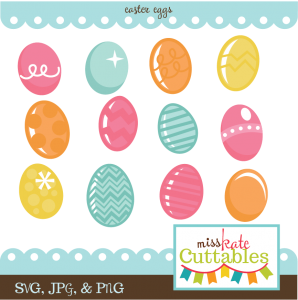 Easter Eggs SVG cutting files easter egg svg cut file easter eggs cut files for scrapbooks