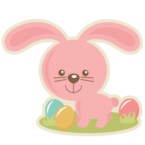 Easter Bunny In Nest  SVG cutting files easter egg svg cut file easter eggs cut files for scrapbooks