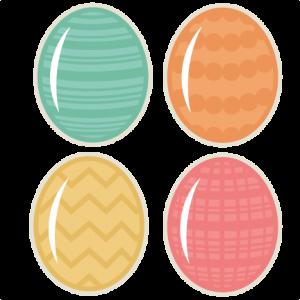 Easter Eggs SVG cutting files easter egg svg cut file easter eggs cut files for scrapbooks