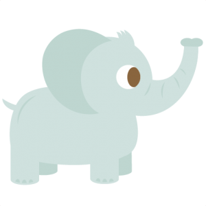 Elephant SVG cutting files for cutting machines scal files scut files free svg cuts