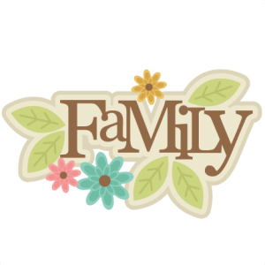 Family Title SVG cut file family scrapbook title family svg cut file for scrapbooking