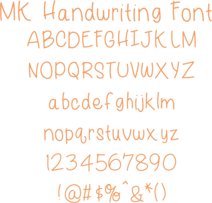 Miss Kate Handwriting Font