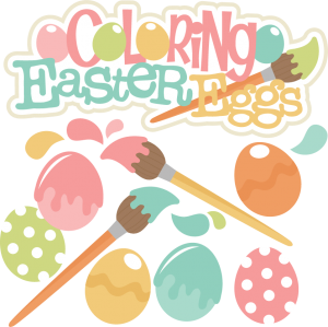 Coloring Easter Eggs SVG cutting files easter svg cut files for scrapbooks svg cut files for scrapbooking easter
