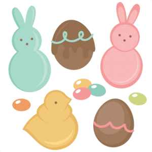 Easter Candy Set SVG cutting files easter egg svg cut file easter eggs cut files for scrapbooks