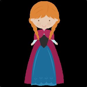 Winter Princess SVG cut files princes svg cut files princes svg files for scrapbooking