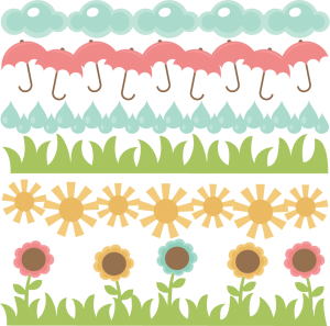 Spring Borders SVG cut files free svg files free svg cut files spring svg cuts