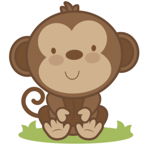Baby Monkey SVG cutting file monkey svg cut file free svgs free svg cuts
