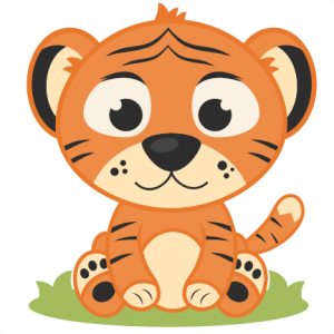 Baby Tiger SVG cutting file tiger svg cut file free svgs free svg cuts